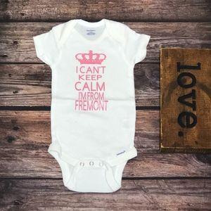 """Infant 1-Pc """"I Can't Keep Calm"""" Bodysuit"""